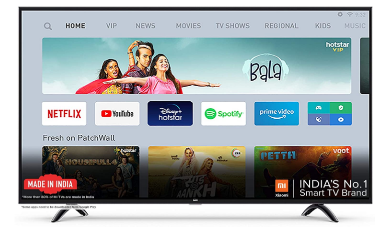 MI LED TV 4x Pro TV under 50000