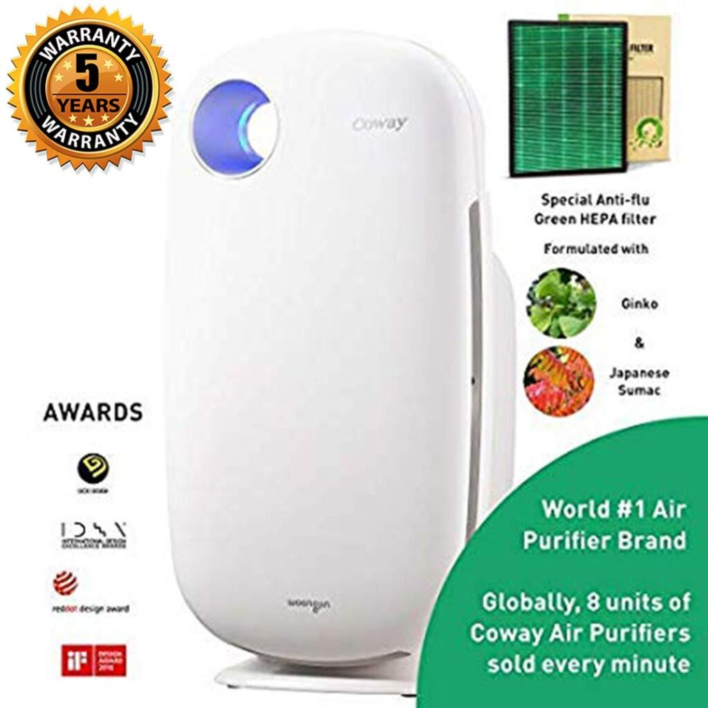coway top air purifiers in india