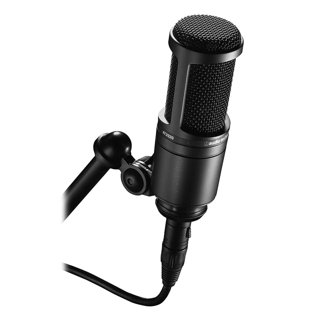 Audio Technica AT2020 - best mic for youtube under 10000