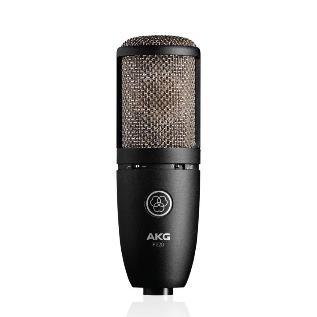 AKG P220 Condenser Mic - best condenser mic under 10000