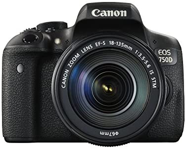 Canon EOS 750D - best dslr cameras under 50000