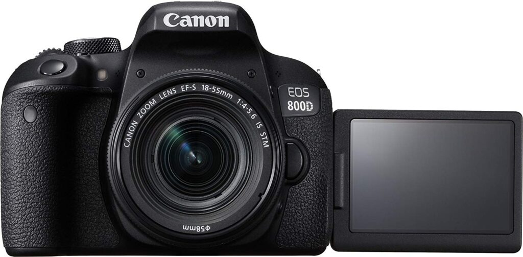 Canon EOS 800D - best dslr cameras under 50k