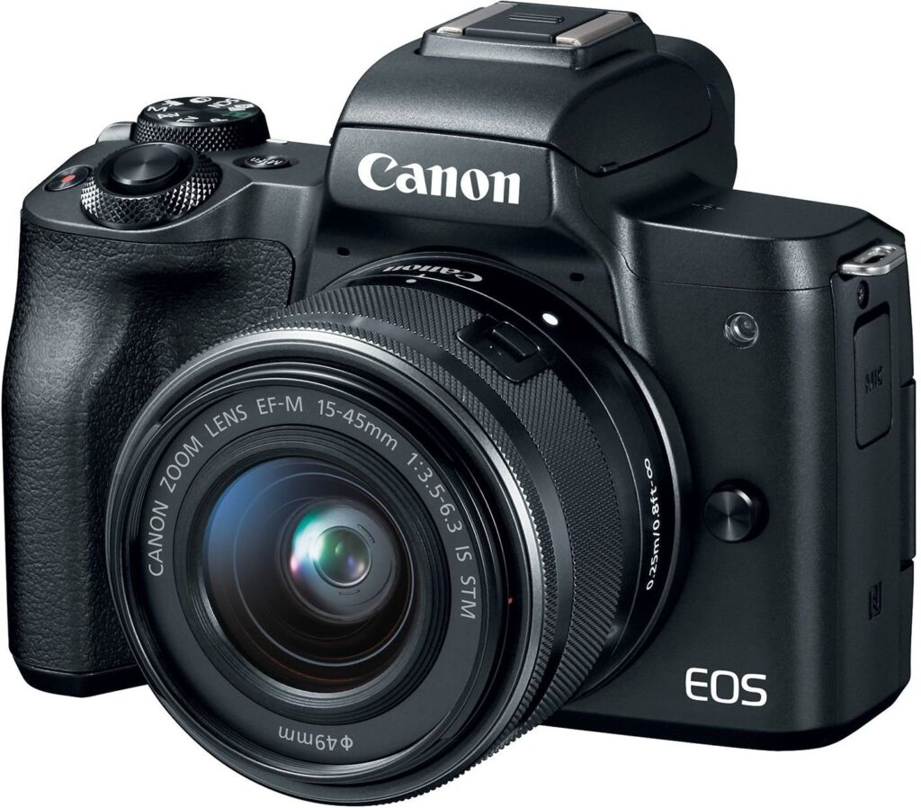 Canon EOS M50 - best mirrorless camera under 50000