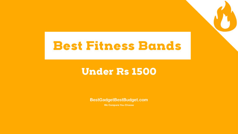 Fitness Bands under 1500
