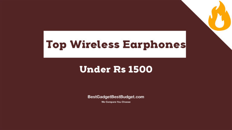 Top wireless earphones