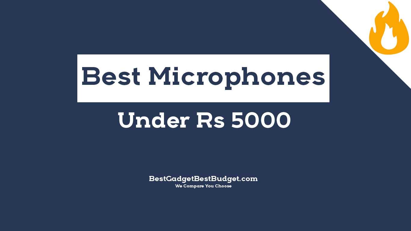 Best Condenser Microphones Under 5000