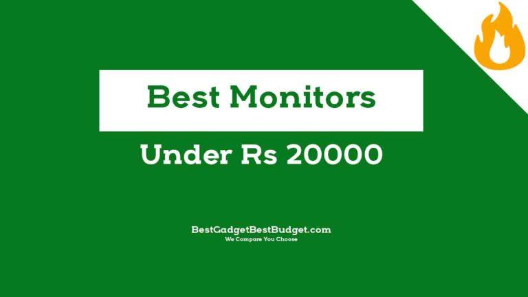 Best Monitors Under 20000 India