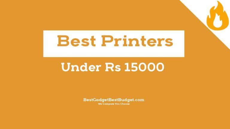 Best Printers Under 15000 India