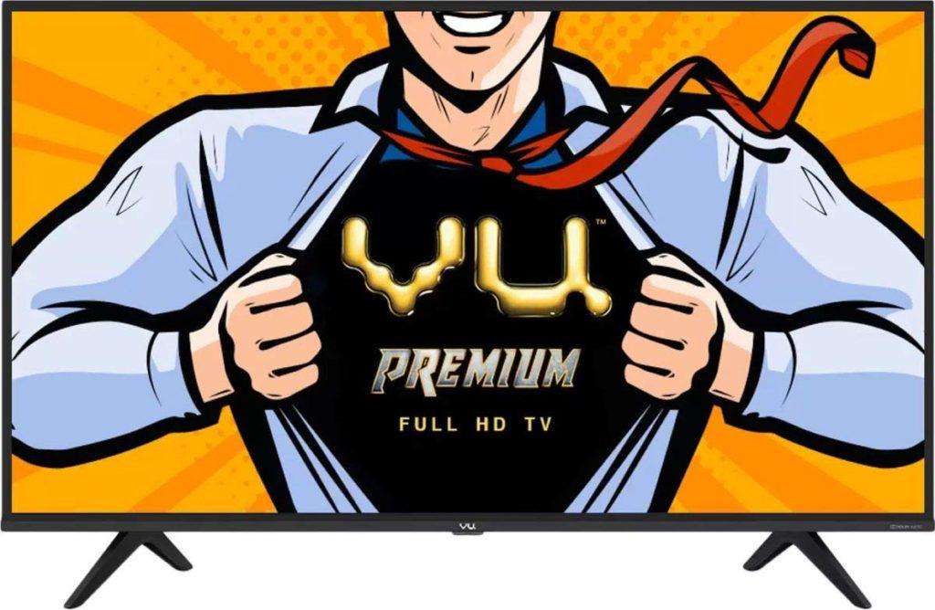 Best LED Smart TVs under 25000 - VU Premium TVs