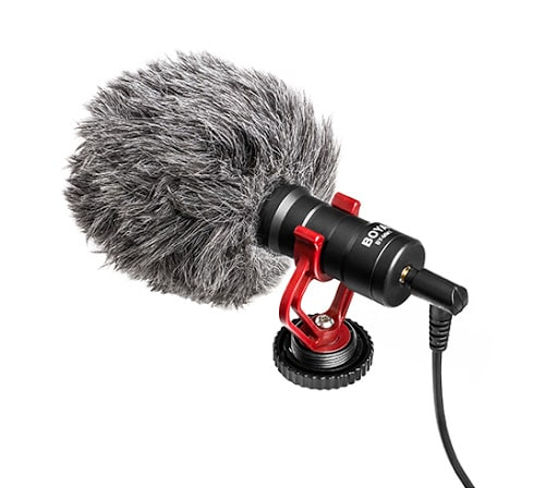 BOYA by-MM1 Cardioid- Best Shotgun Microphone in india