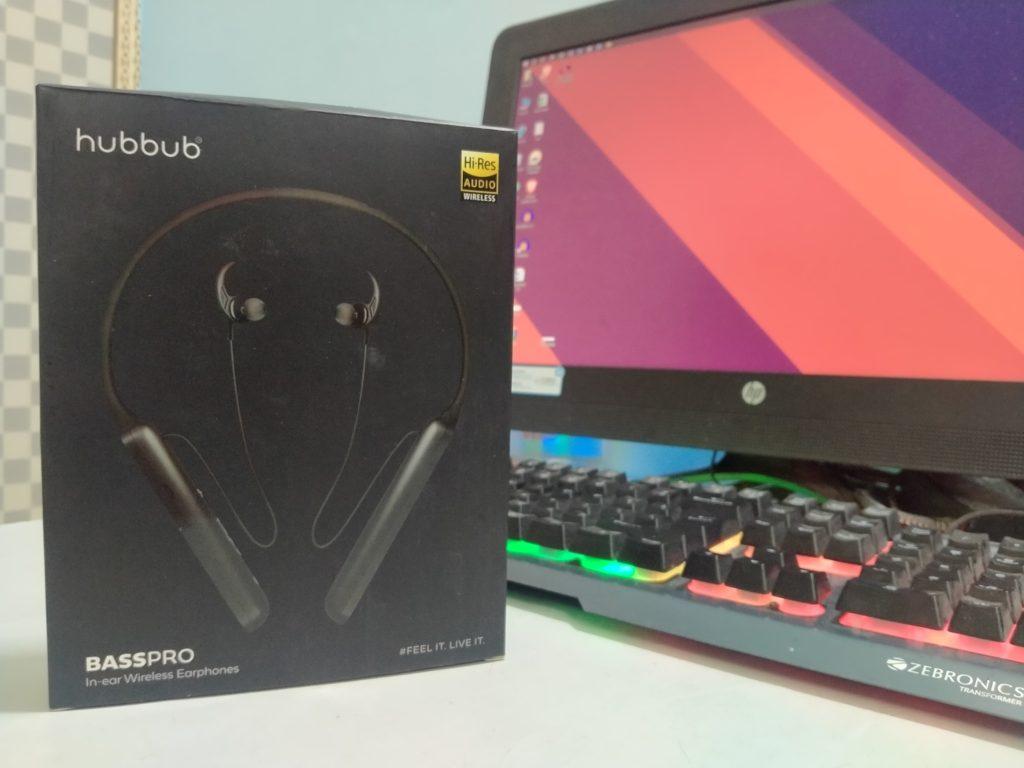 Hubbub Basspro Neckband with box