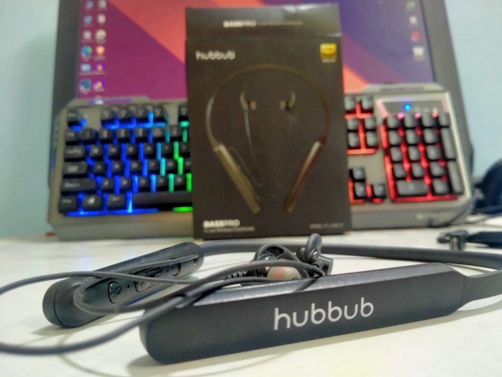 review Hubbub Basspro neckband